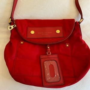 Marc by Marc Jacobs red nylon crossbody
